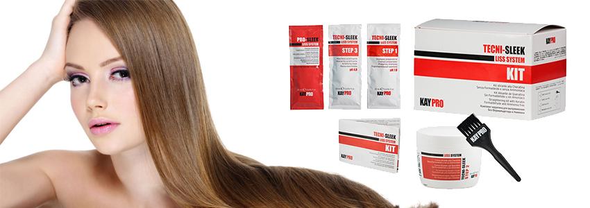 Трајно исправување на коса (со кератин)