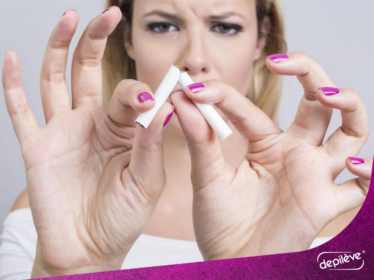 Ако сакате здрава кожа, не пушете цигари